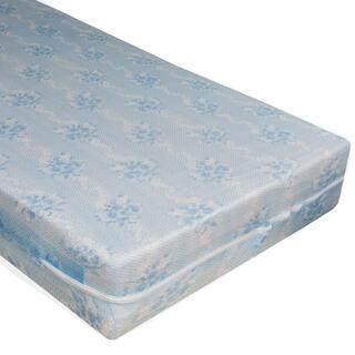 Protecție elastică pentru saltea cu fermoar Alba