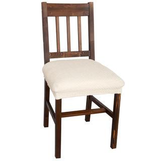 Huse multielastice CARLA smântânii scaun 2 buc (40 x 40 cm)