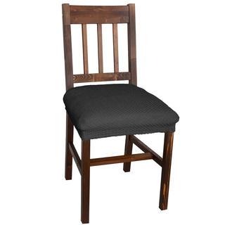 Huse multielastice CARLA gri, scaun 2 buc (40 x 40 cm)