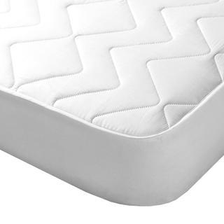 Protecție de saltea matlasată cu aloe vera de culoare albă
