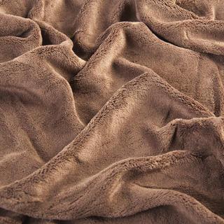 Asternut elastic din microplus maro inchis