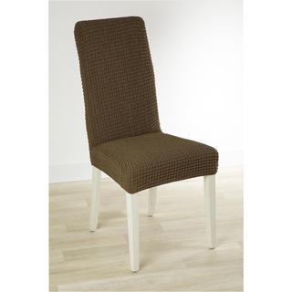 Huse care se întind foarte bine GLAMOUR tutunului scaun cu spatar 2 buc (40 x 40 x 60 cm)