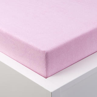 Cearșaf cu elastic frotir EXCLUSIVE roz