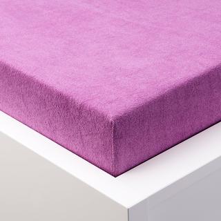 Cearşaf cu elastic frotir EXCLUSIVE violet