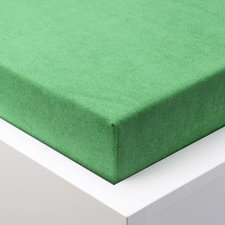 Cearșaf cu elastic frotir EXCLUSIVE verde