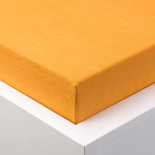 Cearşaf cu elastic frotir EXCLUSIVE portocaliu