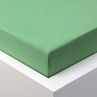 Cearșaf cu elastic jersey EXCLUSIVE verde