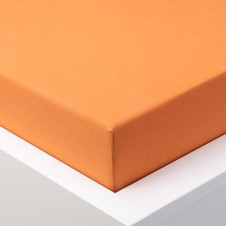 Cearşaf cu elastic jersey EXCLUSIVE portocaliu