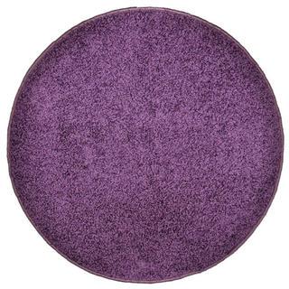 Covor rotund SHAGGY violet