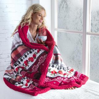 Pătură din blăniţă SALME 140 x 200 cm