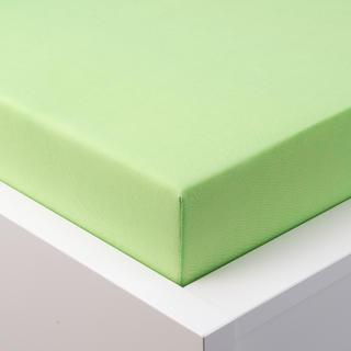 Cearşaf elastic jersey cu elastan verde