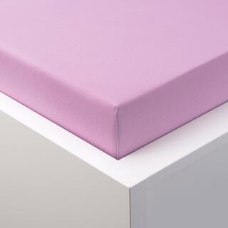 Cearşaf elastic jersey cu elastan violet deschis
