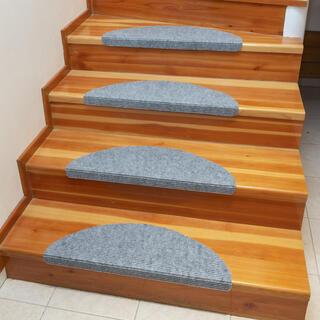 Preș pentru scări QUICKSTEP semicerc gri