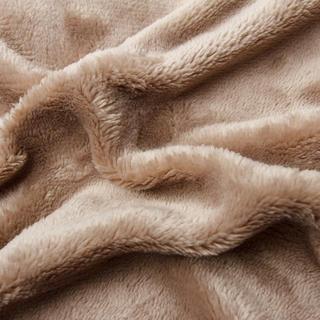 Asternut elastic SLEEPWELL microplus ciocolatei