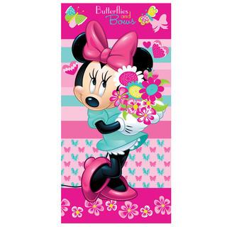 Prosop de baie pentru copii Minnie flower