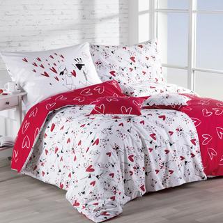 Lenjerie de pat din bumbac Dragoste