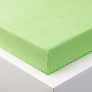 Cearșaf elastic frotir GRAND măr verde