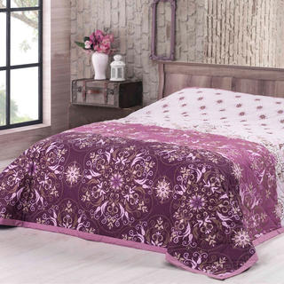Cuvertură pentru pat Alberica, fuchsia