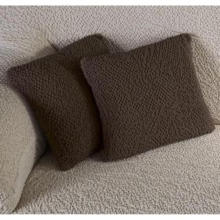 Huse bielastice BUKLÉ tutunului, feţe de pernă 2 buc (40 x 40 cm)