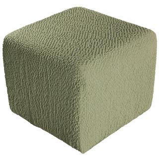 Huse bielastice BUKLÉ mazăre taburet (40 x 40 x 40 cm)