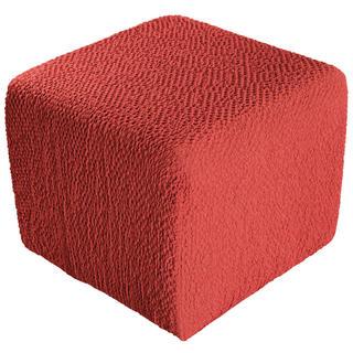 Huse bielastice BUKLÉ coral taburet (40 x 40 x 40 cm)