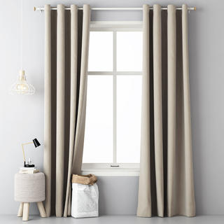 Draperie decorativă EASY bej 140 x 250 cm set 2 buc