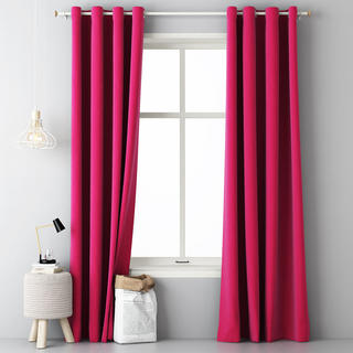 Draperie decorativă EASY purpuriu 140 x 250 cm set 2 buc