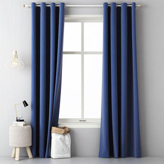 Draperie decorativă Easy albastru 2 buc