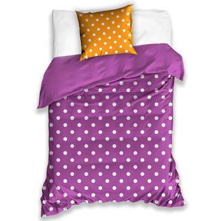 Lenjerie de pat din bumbac Spot Violet