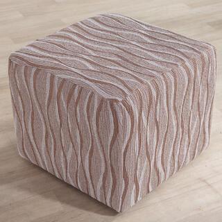 Huse monoelastice CASIOPEA bej taburet (l. 40 x 60 cm)