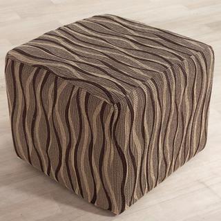 Huse monoelastice CASIOPEA maro taburet (l. 40 x 60 cm)