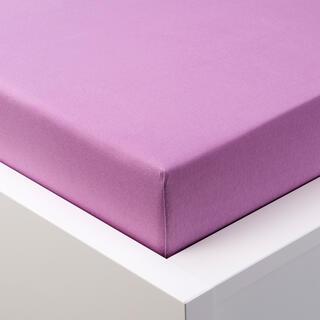 Cearşaf elastic jersey GRAND lila