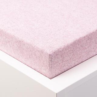 Cearșaf elastic frotir MELÉ roz deschis pastel
