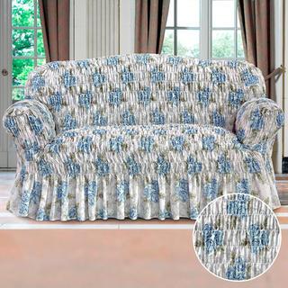 Huse elastice cu volan POESIA albastre