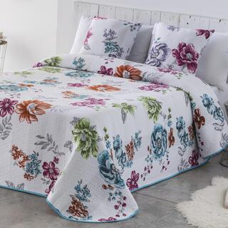 Cuvertură pentru pat CRYSTAL albastră