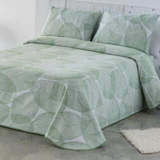 Cuvertură pentru pat AIDA verde deschis