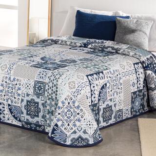Cuvertură pentru pat MIA albastru, pat simplu
