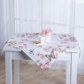 Față de masă MAGNOLIE ȘI FLUTURI 85 x 85 cm