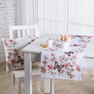 Șervet de masă MAGNOLIE ȘI FLUTURI 40 x 110 cm