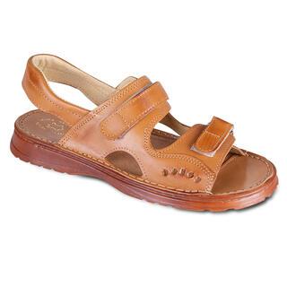 Sandale din piele pentru bărbaţi cu scai