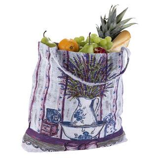 Sacoşă textilă pentru cumpărături LAVANDĂ