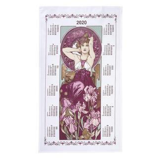 Calendar de Crăciun - prosop de bucătărie FECIOARA 42 x 70 cm