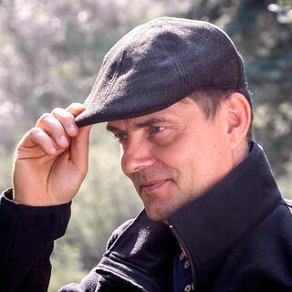 Şapcă de golf pentru bărbaţi maro