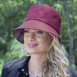 Pălărie damă roșie