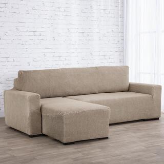 Huse care se întind foarte bine NIAGARA alunei canapea cu otoman stânga (l. 210 - 320 cm)