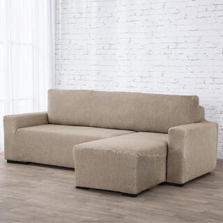 Huse care se întind foarte bine NIAGARA alunei canapea cu otoman dreapta (l. 210 - 320 cm)