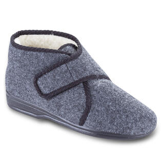 Papuci bărbați pe scai gri