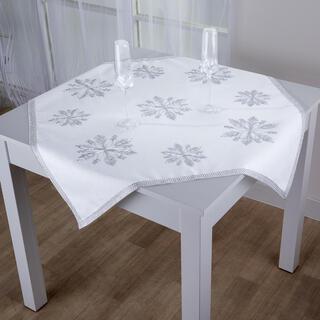 Şervet central de masă cu pietricele Fulgi 85 x 85 cm
