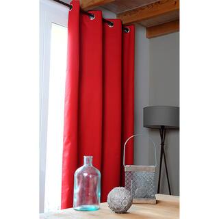 Draperie groasă OSLO roşie 140 x 260 cm