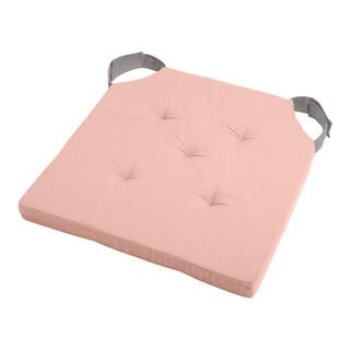 Pernuţă pentru scaun DUO UNI cu scai, roz prăfuit